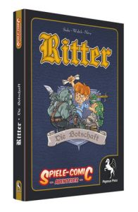 Spiele Comic Ritter - Die Botschaft - Cover