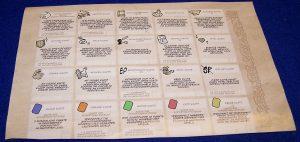 Spiele Comic Ritter - Die Botschaft - Karten-Übersicht