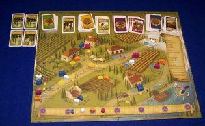 Viticulture - Spielplan