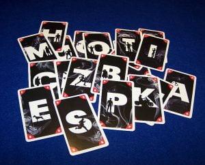 Chiffre - Buchstabenkarten