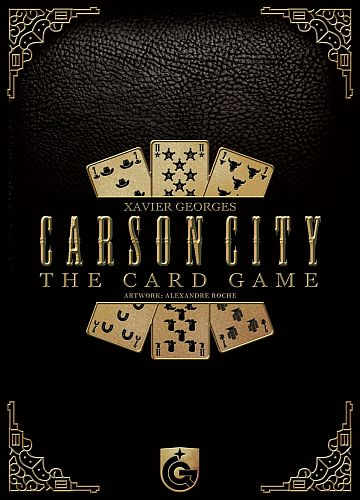 Carson City Card Game - Cover