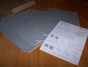 Folded Space – Foamcore-Stanzbögen