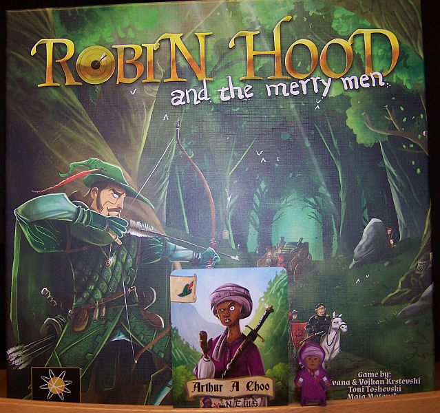 Robin Hood and the Merry Men - Arthur A Choo