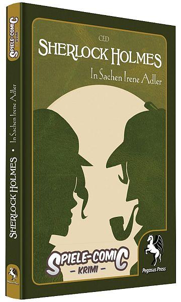 Spiele Comic Holmes - In Sachen Irene Adler - Cover