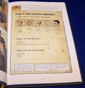 Spiele Comic Holmes - In Sachen Irene Adler - Fall-Auflösung