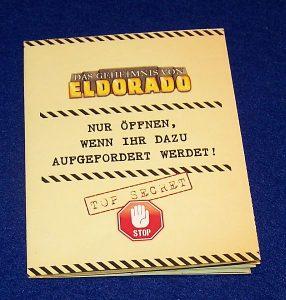 Deckscape - Eldorado - Schatzkarte