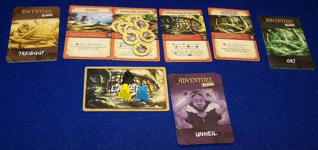 Adventure Island - Aufbau
