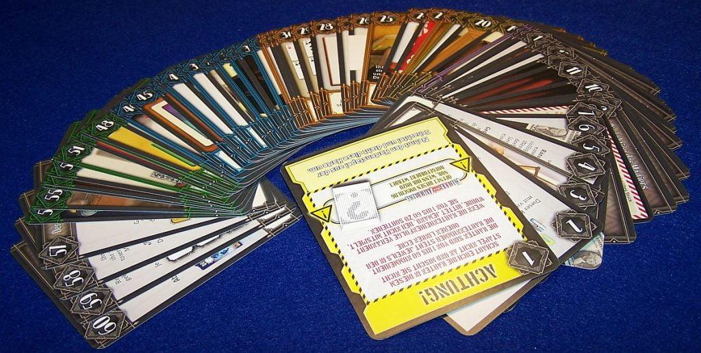 Deckscape - Hinter dem Vorhang - Karten