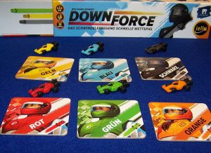 Downforce - Fahrzeuge