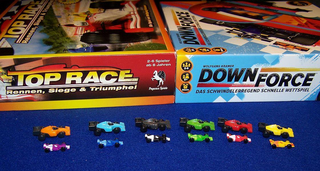 Downforce - Vergleich Top Speed Autos