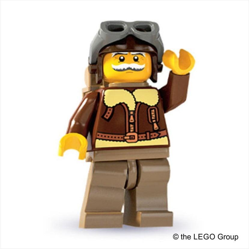 Lego-Pilot Serie 3