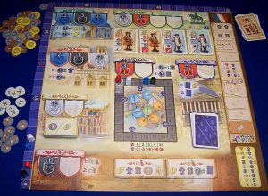 Bastille - Spielplan
