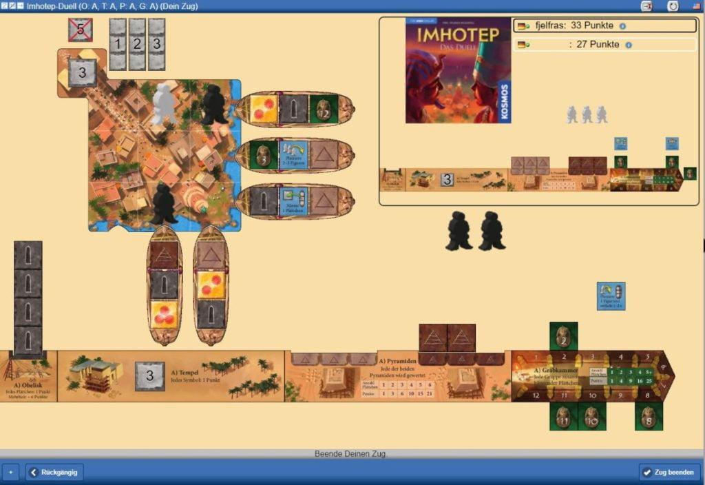 Imhotep - Das Duell - Yucata Screenshot
