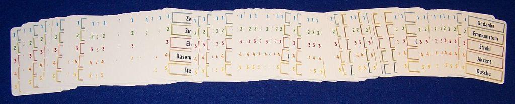 Just One - Karten