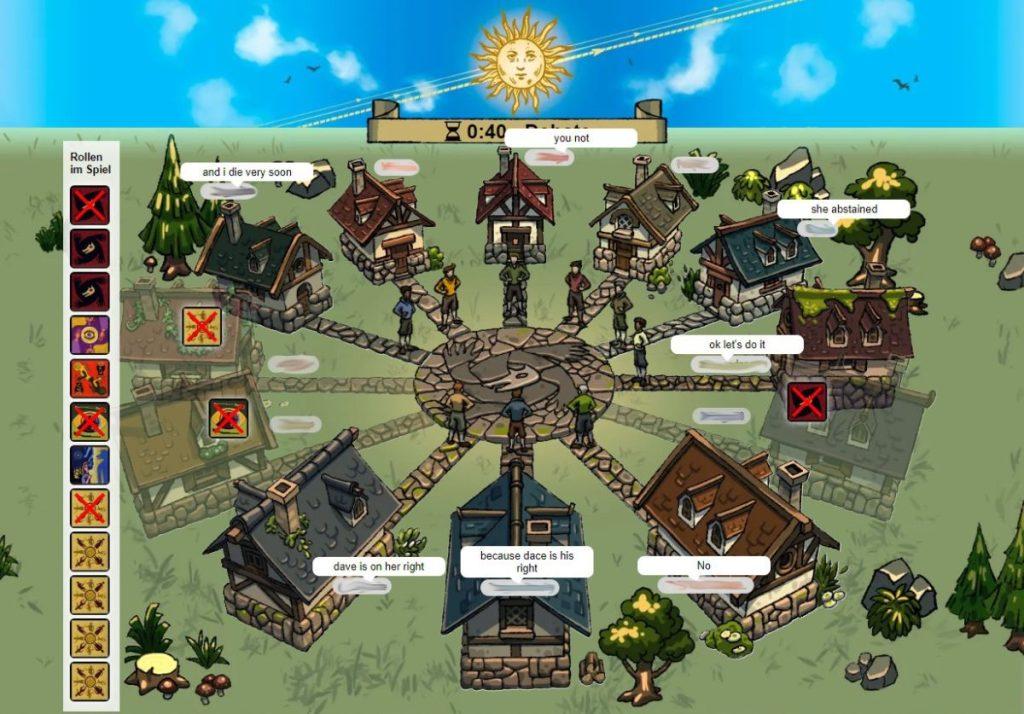 Die Werwölfe von Düsterwald - Screenshot BGA