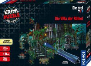 Krimi Puzzle Die Villa der Rätsel - Box
