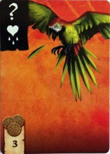 Mitarbeiter des Monats - Papagei Blackbeard