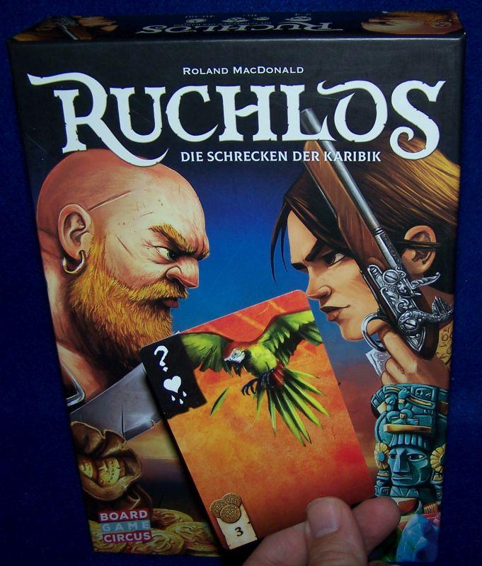 Ruchlos - Papagei Blackbeard