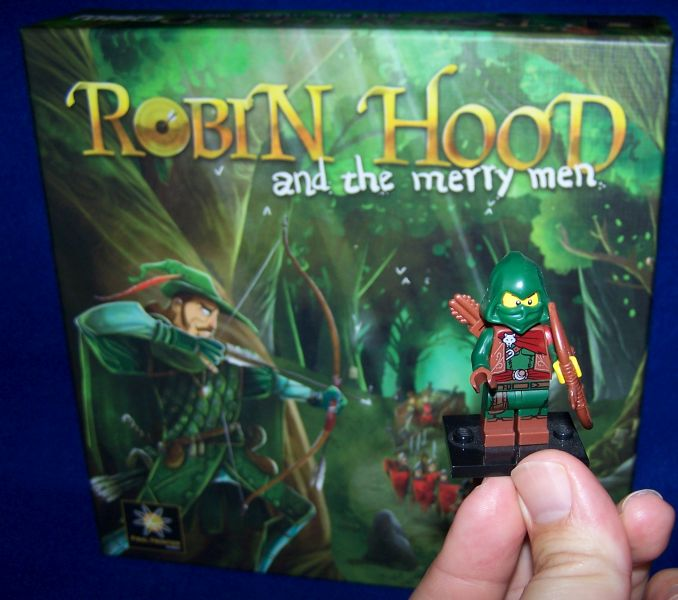 Robin Hood and the merry man - Startspilerfigur