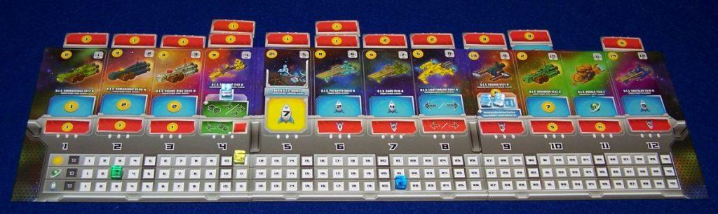 Space Base - Spielverlauf