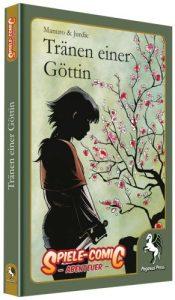 Spiele Comic - Die Tränen einer Göttin - Cover