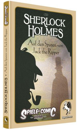 Spiele Comic Holmes - Jack the Ripper - Cover