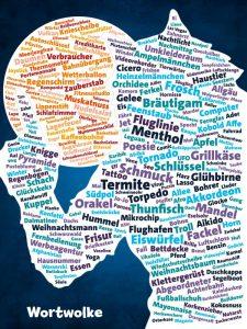 Werwörter - Wortwolke