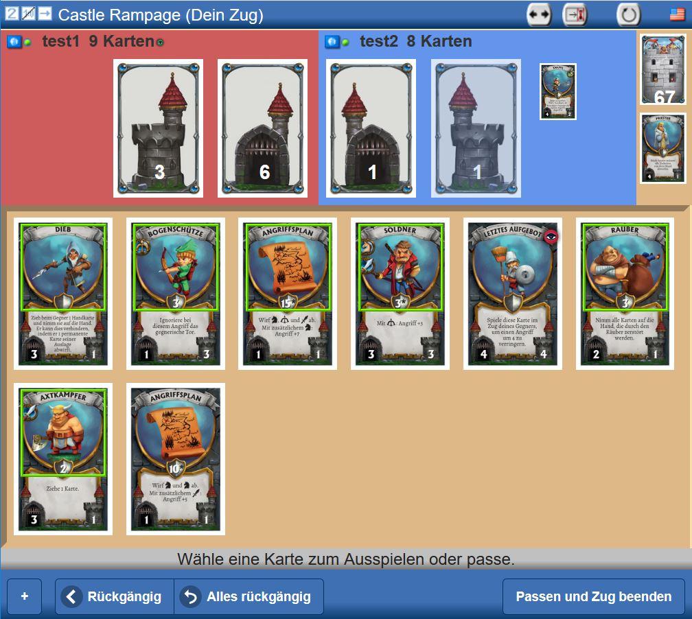 Castle Rampage - Screenshot