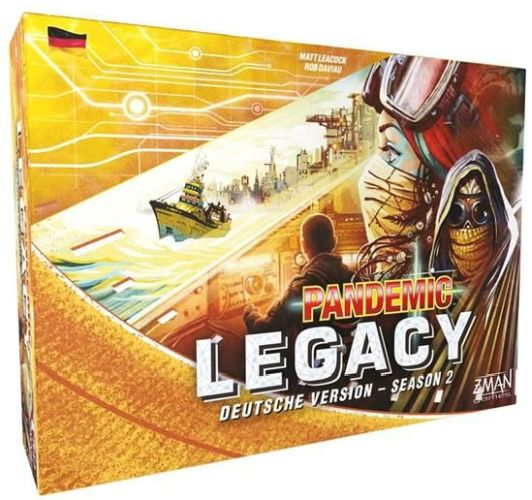 Pandemic Legacy Season 2 - Box gelb