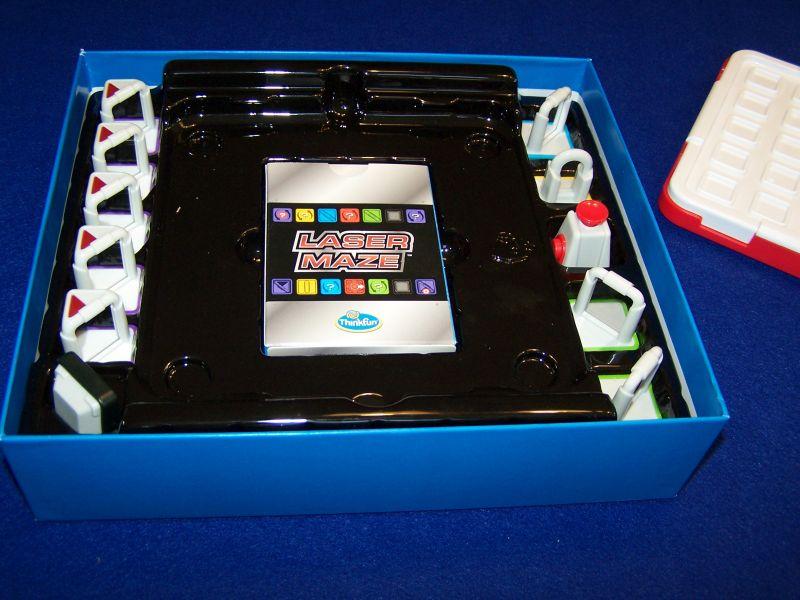 Laser Maze - Inlay