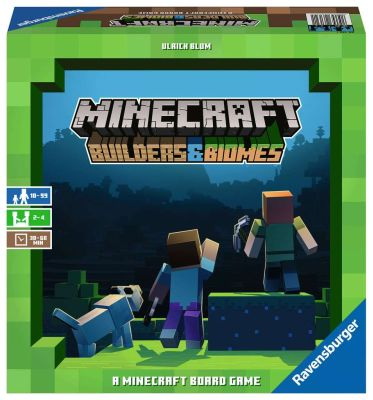 MINECRAFT BUILDERS BIOMES - Box