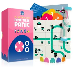 Nine Tiles Panic - Box