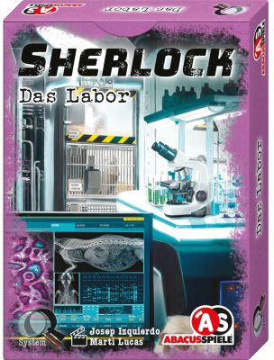 Sherlock - Das Labor - Box