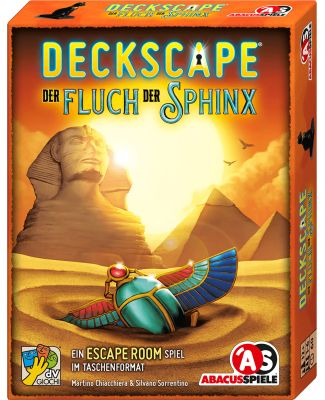 Deckscape - Der Fluch der Sphinx - Box