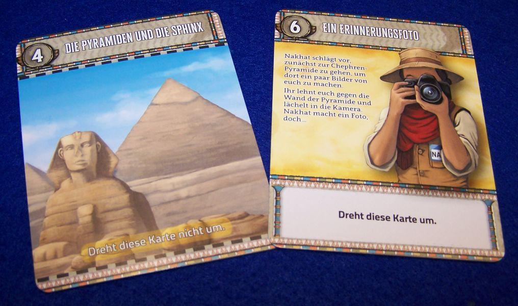 Deckscape - Der Fluch der Sphinx - Karten