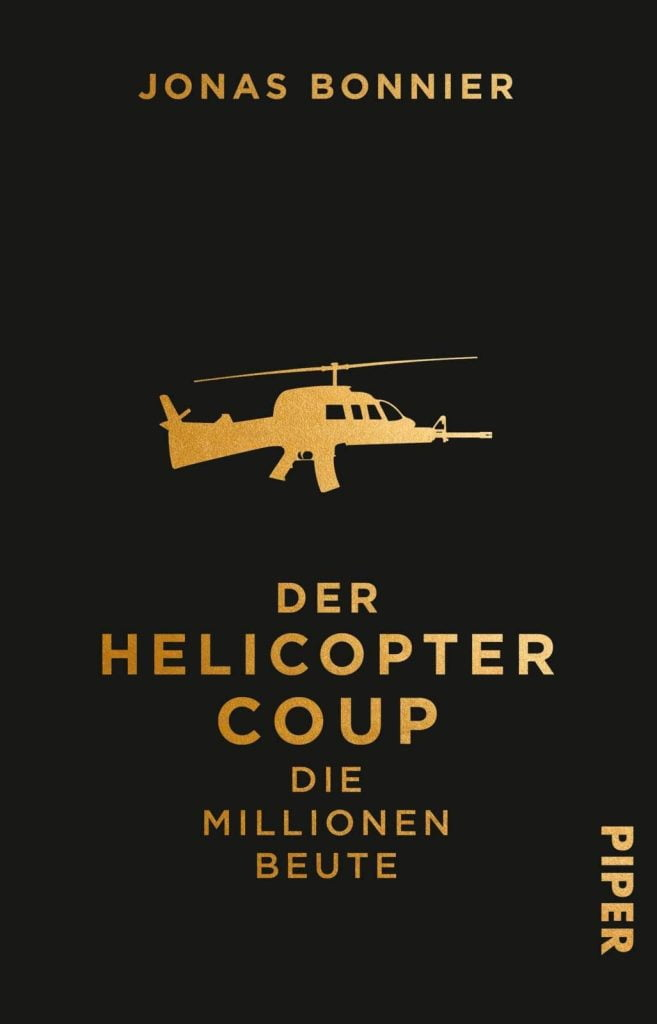 Der Helicopter Coup - Cover