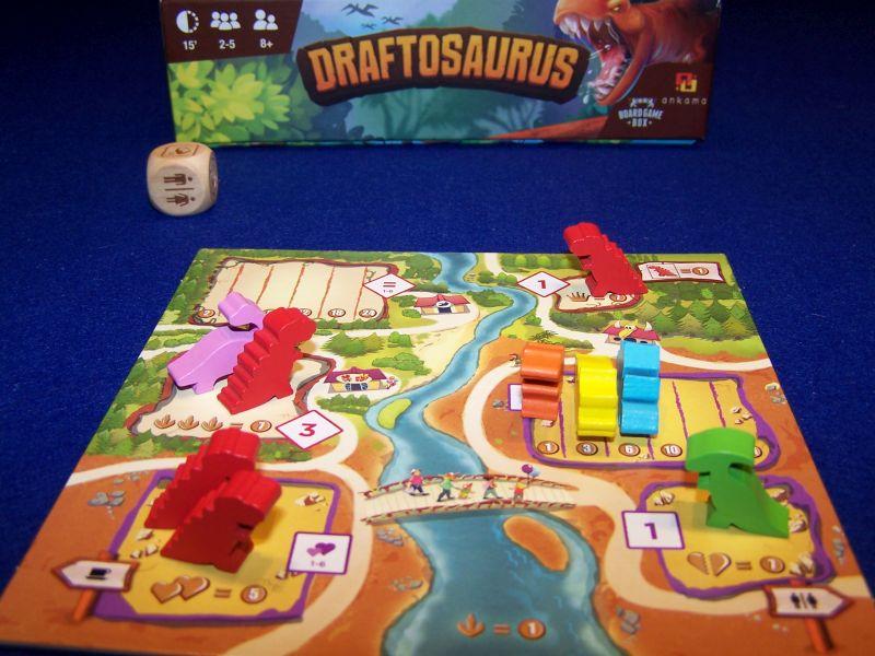 Draftosaurus - Detail