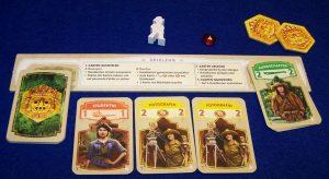 Wettlauf nach El Dorado - Die goldenen Tempel - Spielertableau