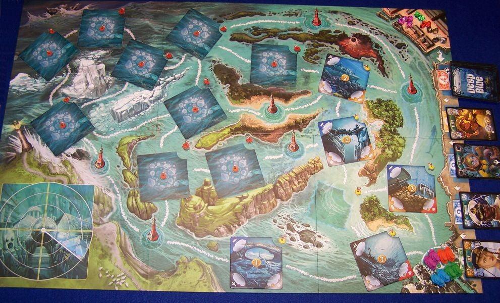 Deep Blue - Spielplan