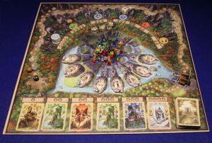 Rune Stones - Spielplan