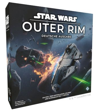 Star Wars Outer Rim - Box