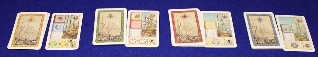 Humboldts Great Voyage - Schiffskarten