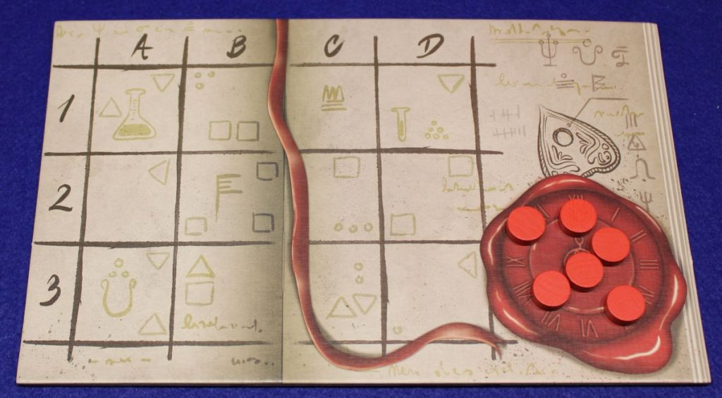 Escape Tales - The Awakening - Spielplan