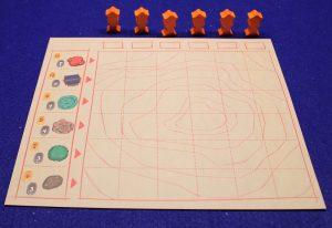 Miyabi - Spielplan