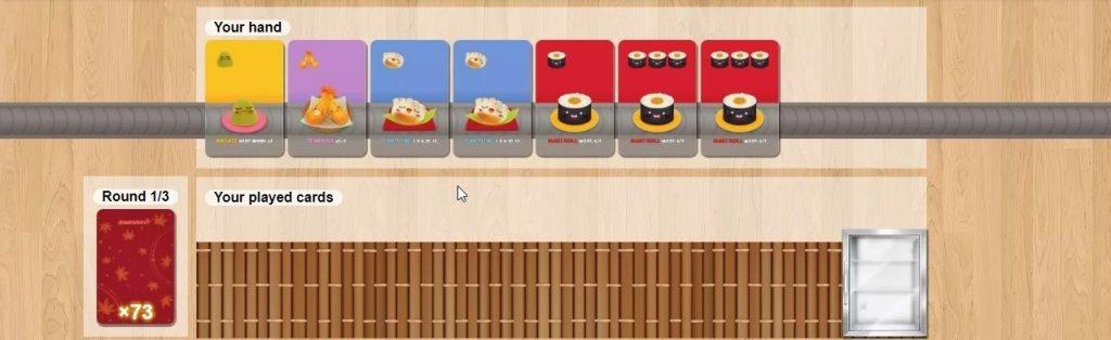 Sushi Go - Screenshot