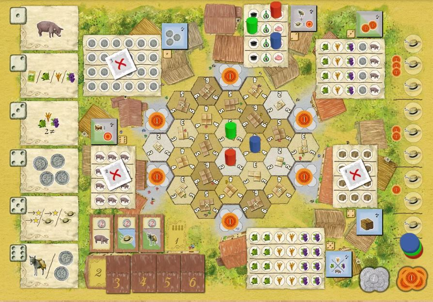 La Granja - Screenshot BGA
