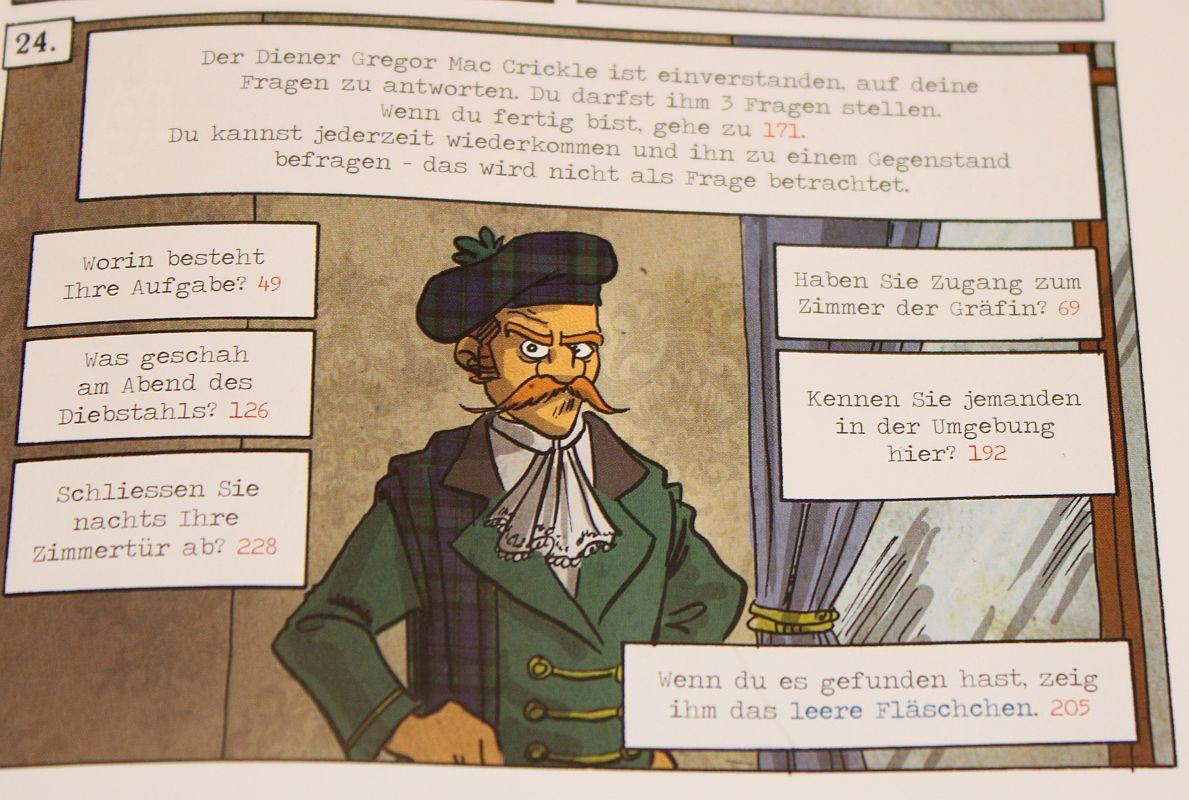 Spiele Comic Krimi - An der Seite von Mycroft - Befragung