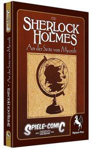 Spiele Comic Krimi - An der Seite von Mycroft - Cover