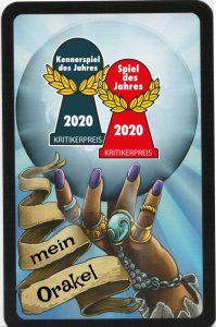 Glaskugel zum Spiel des Jahres 2020