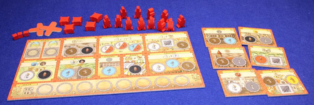 Orleans Stories - Spielertabelaus